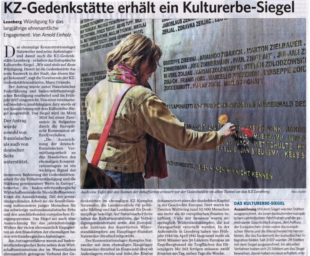 KZ Gedenkstätteninitiative Leonberg e.V. - Startseite